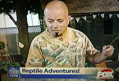 Bwana Iguana on the Rhode Show